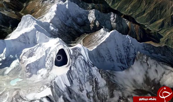عکسی تکان دهنده از پرواز سفینه موجودات فضایی در آمریکا