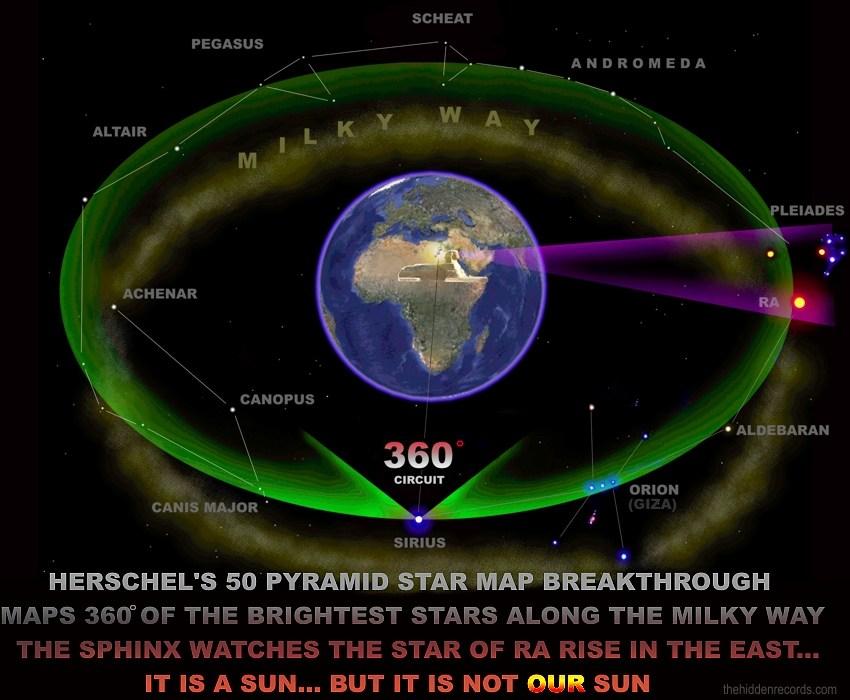 نقشه ستارگان مصری