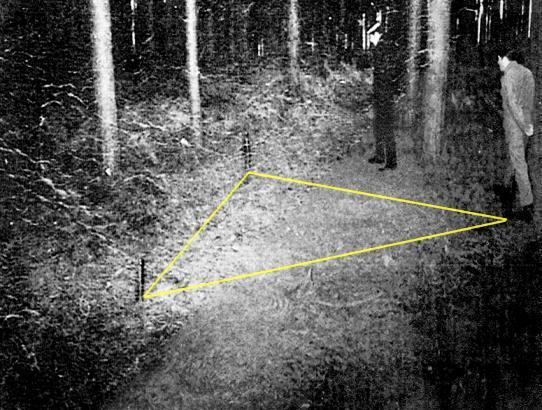 جنگل رندلزهام ؛ جایی که یوفو فرود آمد !