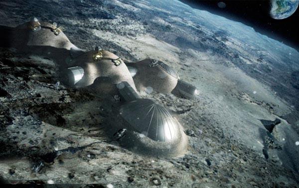 پایگاه دائمی بشر روی کره ماه