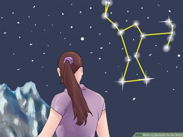جهت یابی به کمک ستارگان