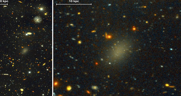 کهکشان نامرئی