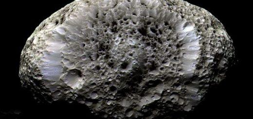 هایپریون، ماه اسفنجی