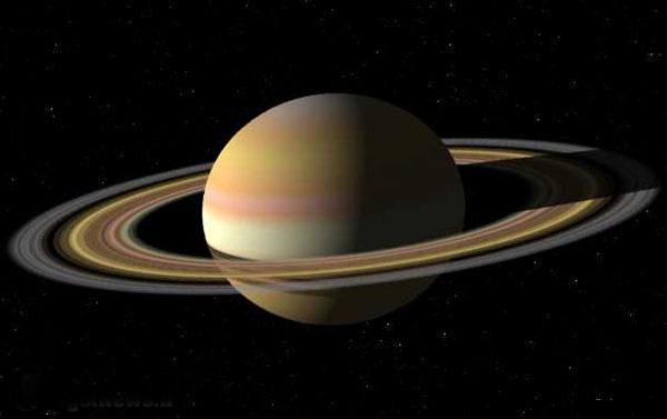 حلقه های سیاره زحل