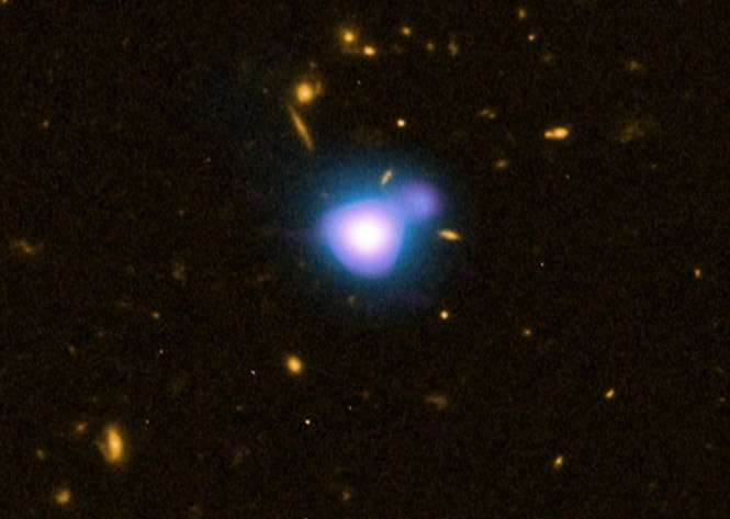 ثبت تصویر دورترین انفجار پرتو ایکس از یک سیاهچاله