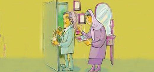 زنهایی که شوهرشان را بچه میکنند