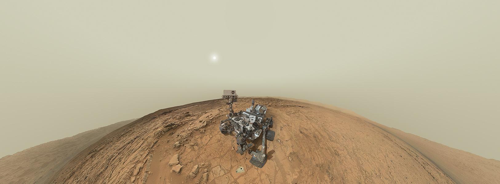 پرتره پانورامیک مریخ