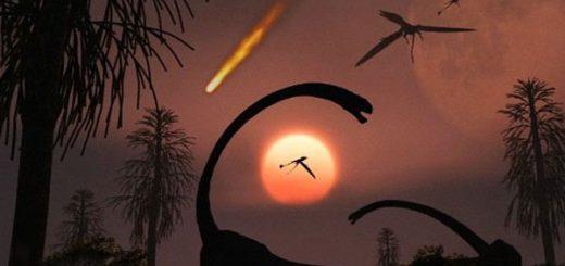 انقراض دايناسورها