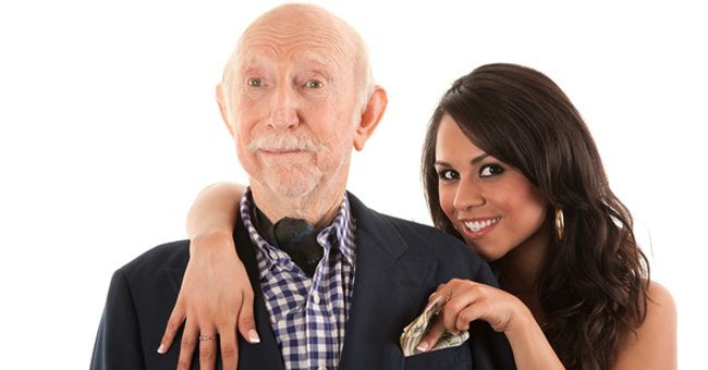 دلیل علاقه برخی از دختران به ازدواج با مردان مسن