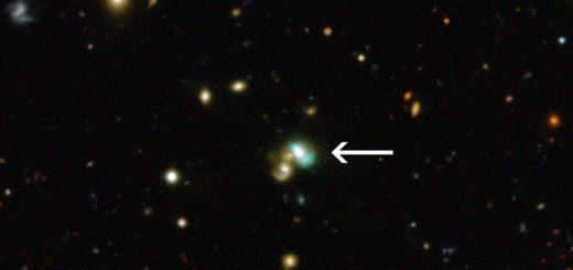 کهکشان لوبيا سبز