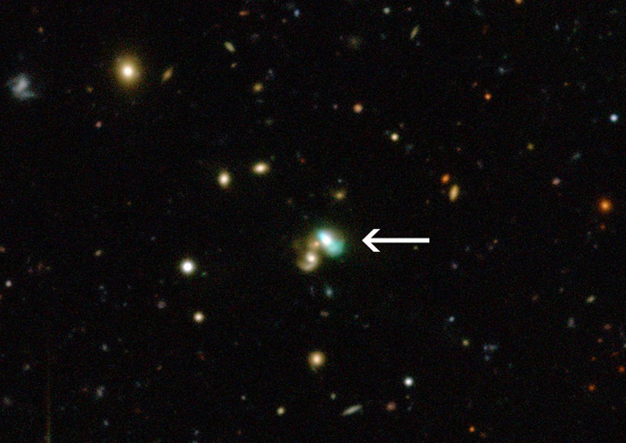 کهکشان لوبیا سبز