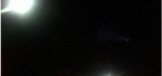 مشاهده پدیدهای نورانی و عجیب در آسمان کشور 18 خرداد 91