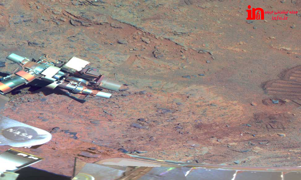 تصویر پانورامیک مریخ