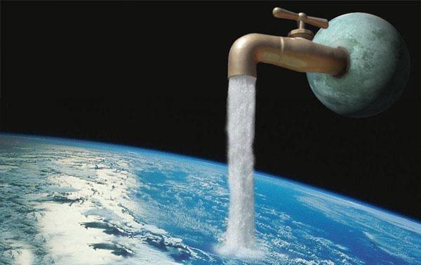 تولید آب در کره ماه