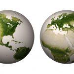 نقشه پوشش گياهاي کره زمين