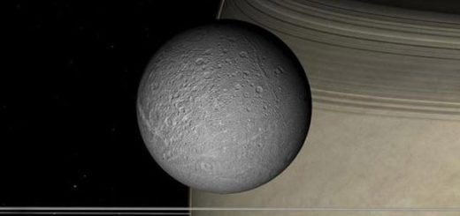 قمر دیون سياره زحل