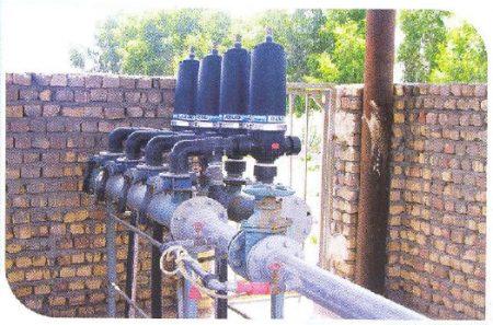 سیستم آبیاری موضعی