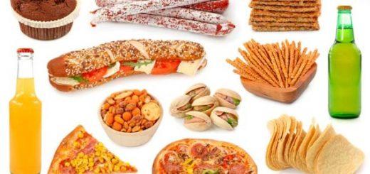 مواد غذایی شور یا دودی