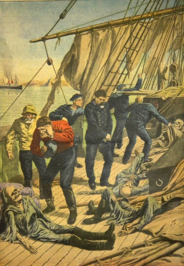 کشتی مارلبورو، کشتی ارواح