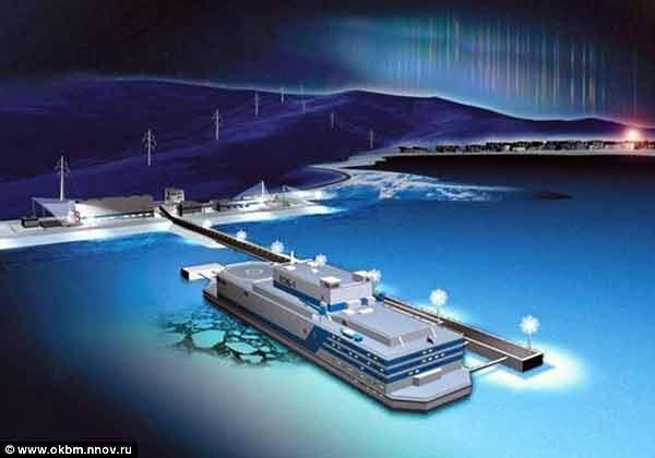 نیروگاه اتمی شناور