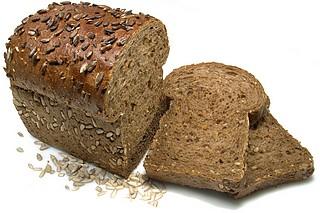 نان تست سبوس دار