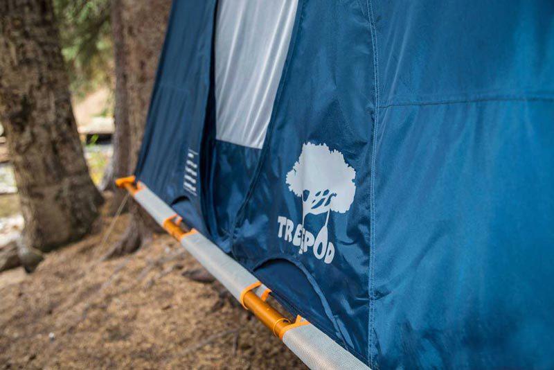 یک شب اتراق در چادری معلق