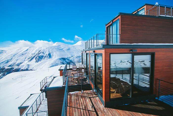 لوکس ترین هتل مخصوص کوهنوردان