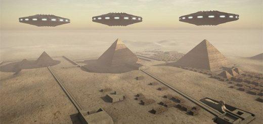 دخالت موجودات فضایی در ساخت هرم جیزه