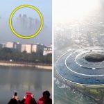 شهری معلق در آسمان چین