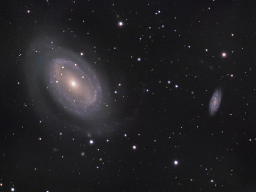 کهکشانی، با تنها یک بازوی مارپیچی