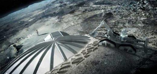 دهکده ای برای سکونت بشر در ماه