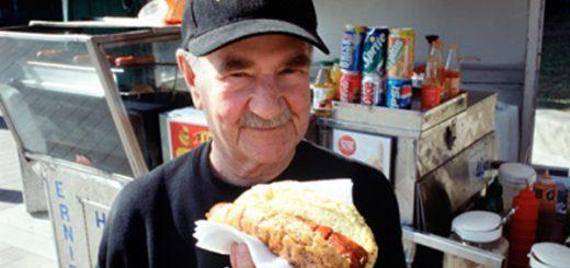 پیرمرد و ساندویچ