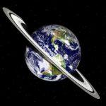 اگر کره زمین مانند سیاره کیوان حلقه داشت