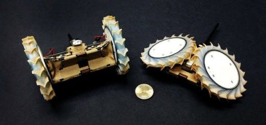 ربات پافر برای اکتشاف در مریخ