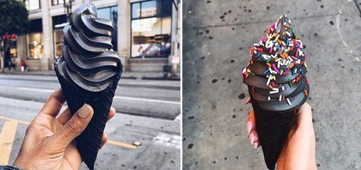 بستنی سیاه