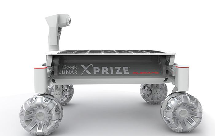 آئودی و خودرویی که به ماه میفرستد
