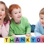 آداب تشکر کردن :