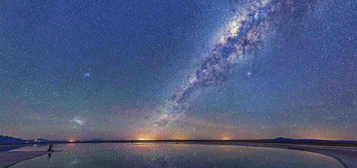 پل مغناطیسی بین دو کهکشان