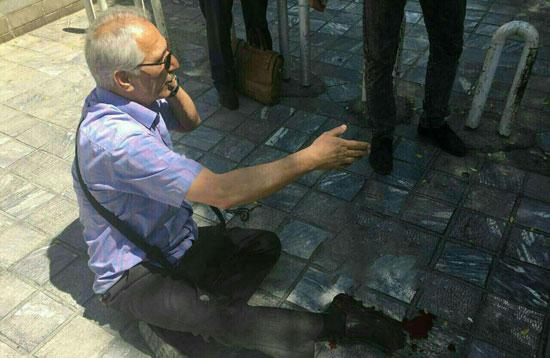 عملیات تروریستی و تیراندازی در حرم امام و مجلس