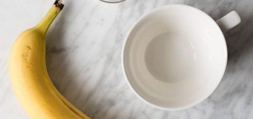 چای موز و دارچین