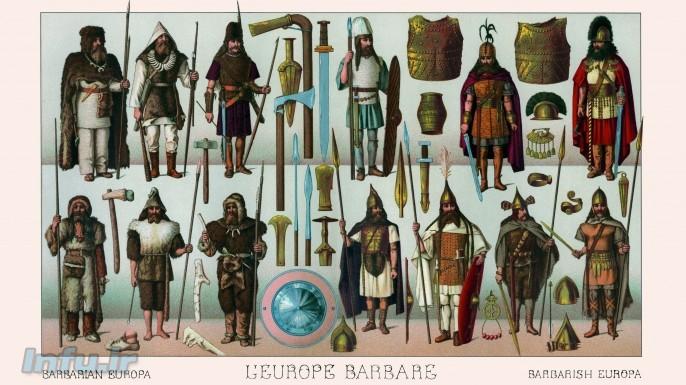 مجموعه یونانیان و بربرها