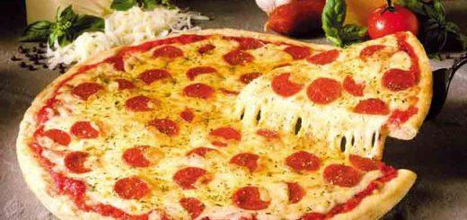 پیتزای پپرونی