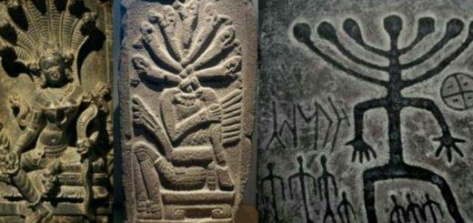 نماد افعی هفت سر در سه تمدن مختلف