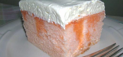 کیک پرتغالی ژلهای