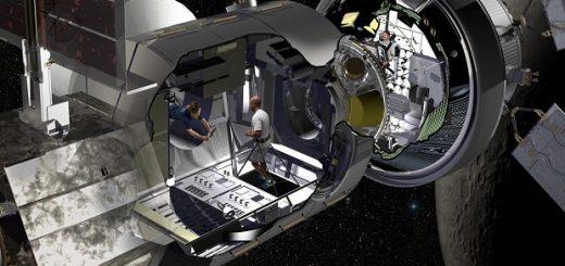 لاکهید مارتین زیستگاه فضایی ناسا