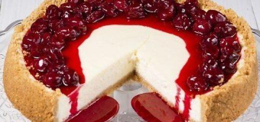کیک پنیر مربایی