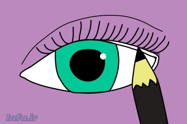چگونه به روش های مختلف خط چشم بکشیم؟