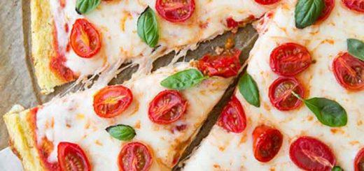 پیتزای کلم رژیمی