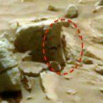 موجودی شبیه انسان در مریخ