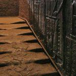 پلکان ذوب شده معبد دندرا